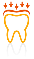 Dental Crown Icon for Mouth Guards